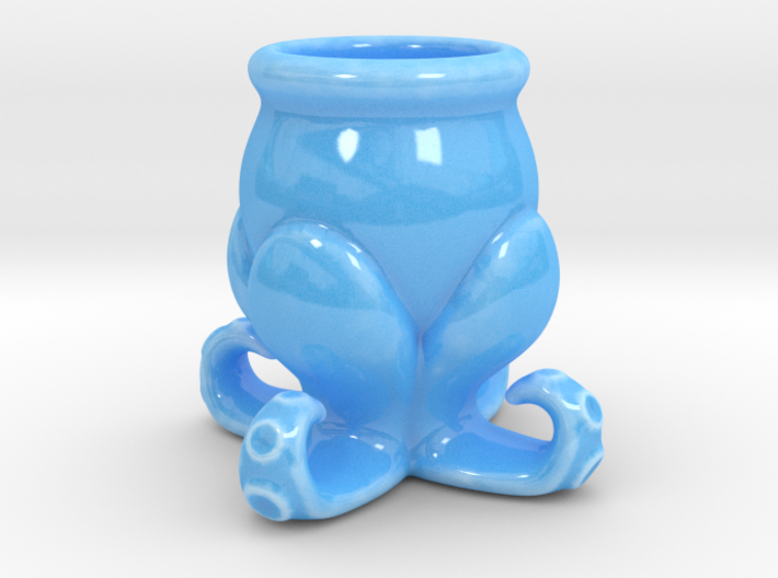 Small Octopus Cup 3d printed