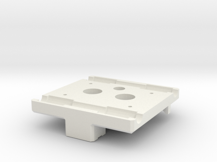 X Carriage Base for Dual Extruders 3d printed