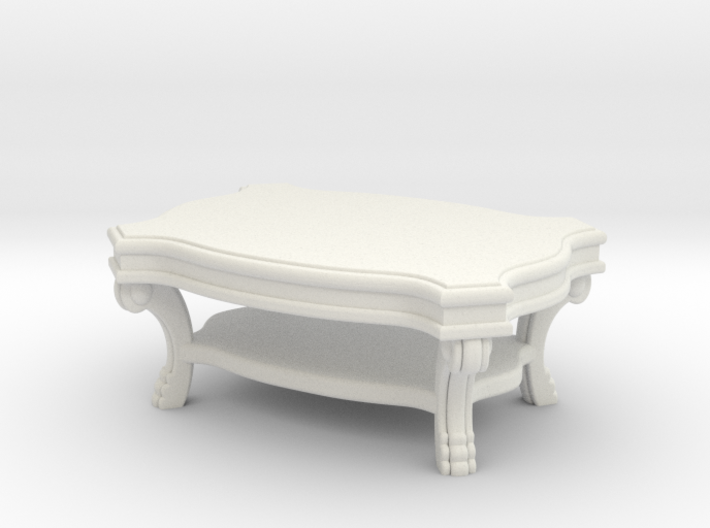 Coffee Table Victorian V1 3d printed