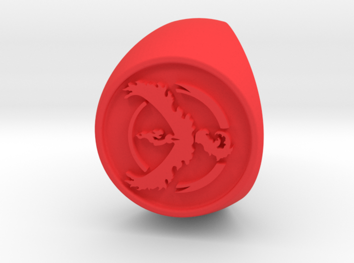 Team Valor Signet US 10.5 3d printed