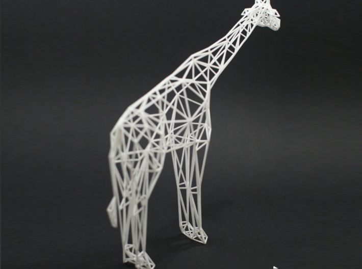 Digital Safari- Giraffe (Small) 3d printed