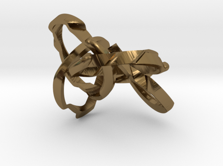 WOW5 Puzzle Ring 3d printed
