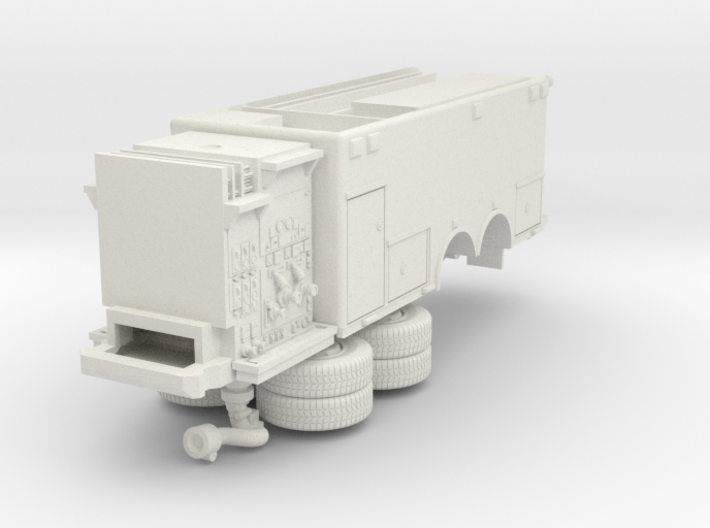 1/87 Bayonne, NJ Dept Spartan/ERV Foam Tender Body 3d printed