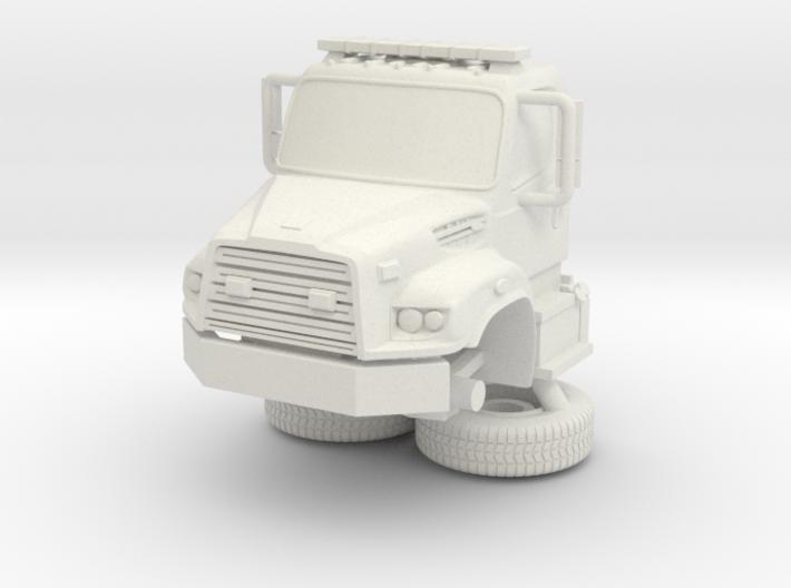 1/87 Bayonne, NJ Dept Spartan/ERV Foam Tender cab 3d printed