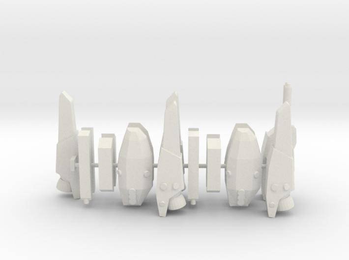 Strike/Super Parts 1/285 scale 3d printed