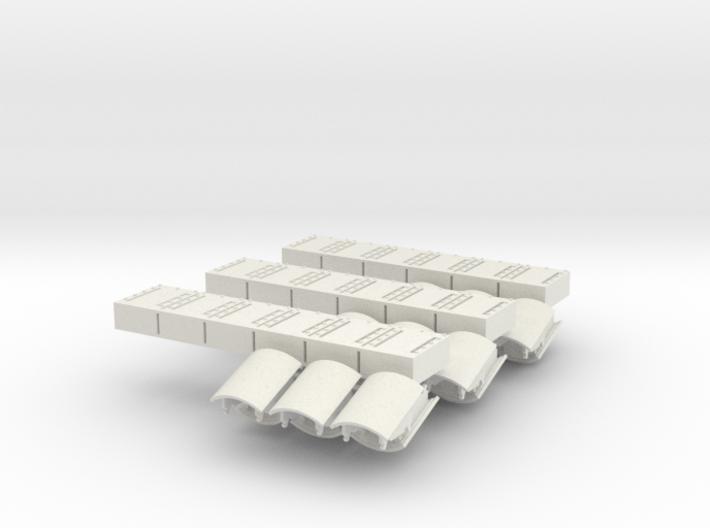 1:18 ERA Panels additional 3x 3d printed