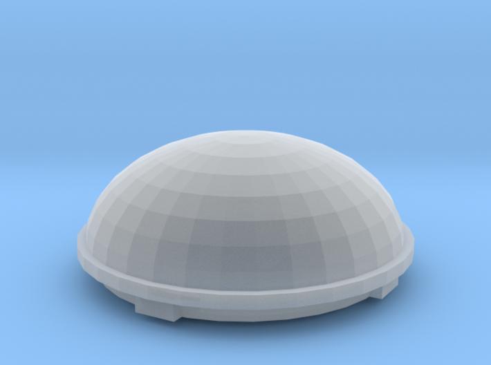 1/25 1/24 Satellite dome for semi truck RV 3d printed