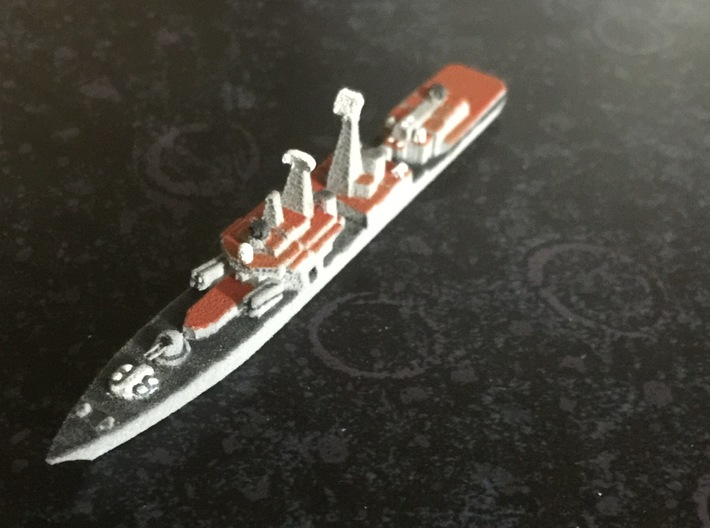 Udaloy II-class destroyer, 1/1800 3d printed Painted Sample
