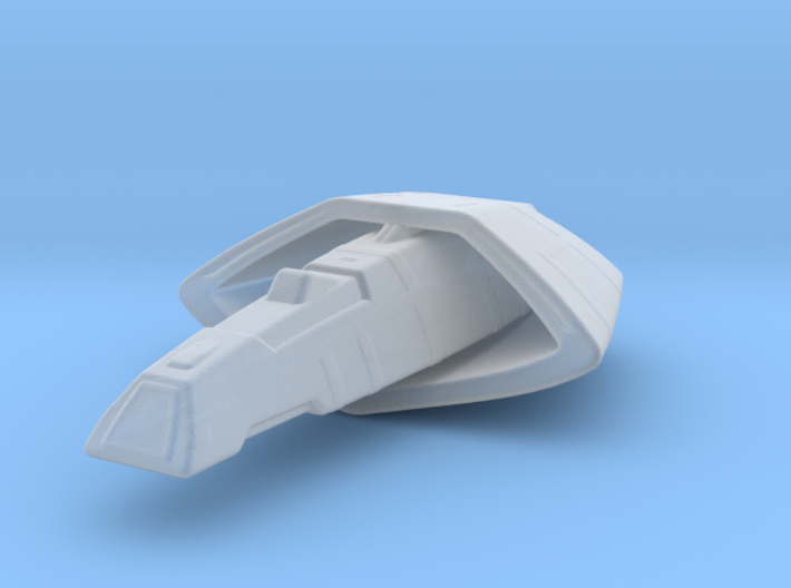 Vulcan T'Pau Type Transport 1/7000 3d printed