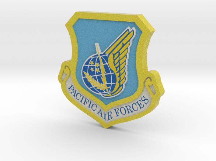 PAF 3d Logo 3d printed