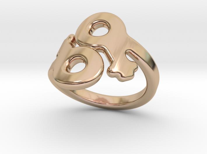 Saffo Ring 16 – Italian Size 16 3d printed