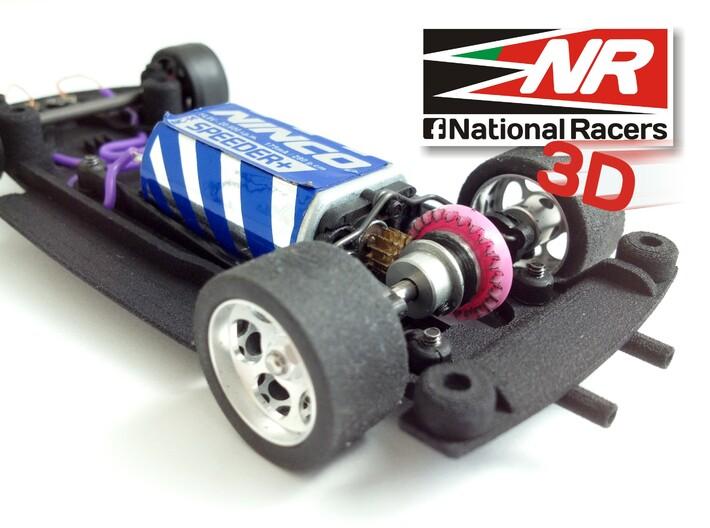 3D chassis - SRC Porsche 914/6 GT (Inline) 3d printed