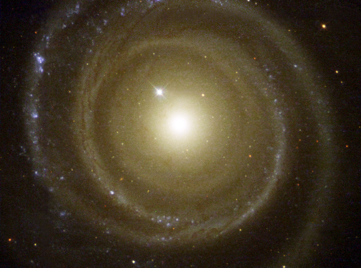 Spiral Galaxy 3d printed The spiral galaxy NGC 4622, from the Hubble Space Telescope. Image Credit: NASA and The Hubble Heritage Team (STScI/AURA)