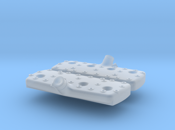 1/24 Flathead Ford Smooth Head Kit 3d printed
