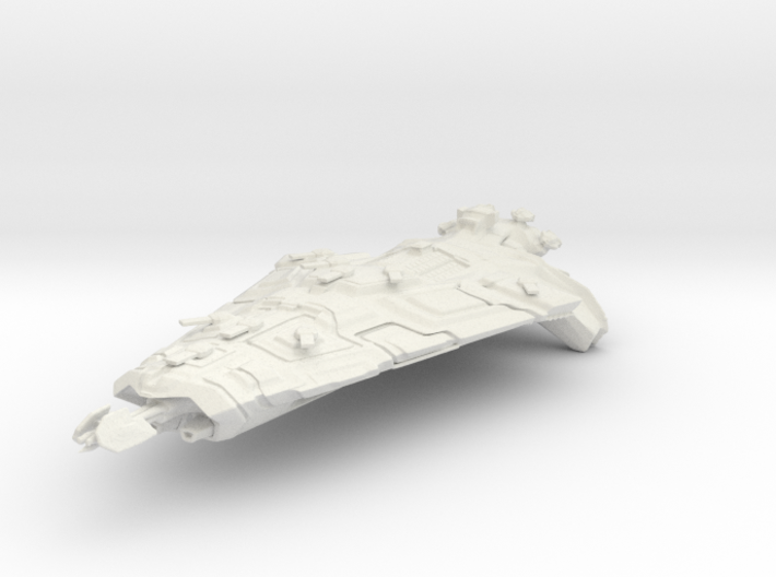 Indomitable Class Dreadnought 3d printed