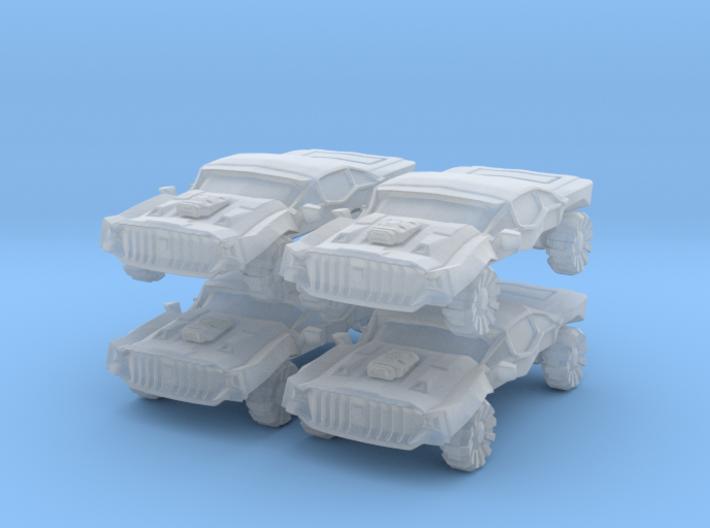 Sentinel Patrol Car 3d printed