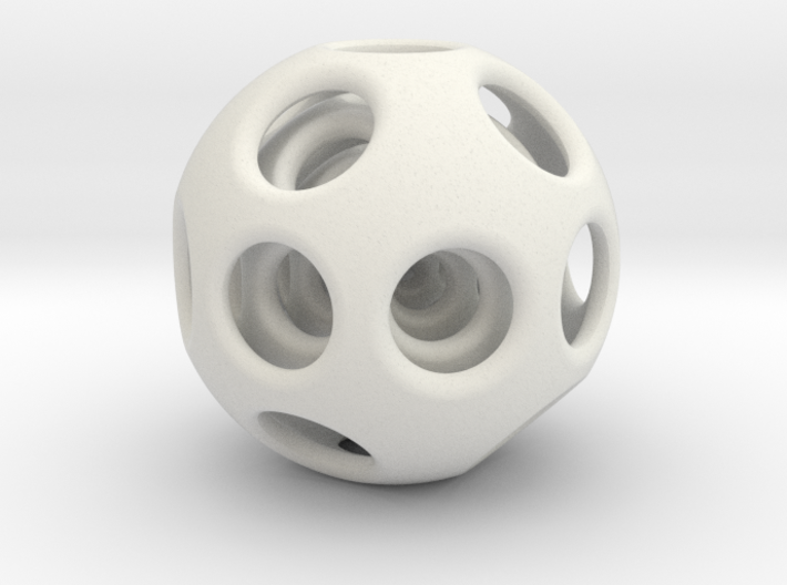 Nested Sphere 3d printed