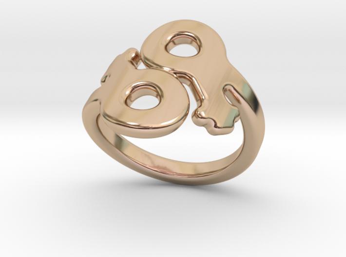 Saffo Ring 18 – Italian Size 18 3d printed