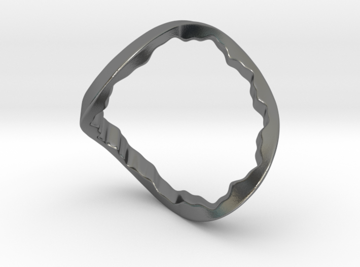 Event Horizon Ring 3d printed