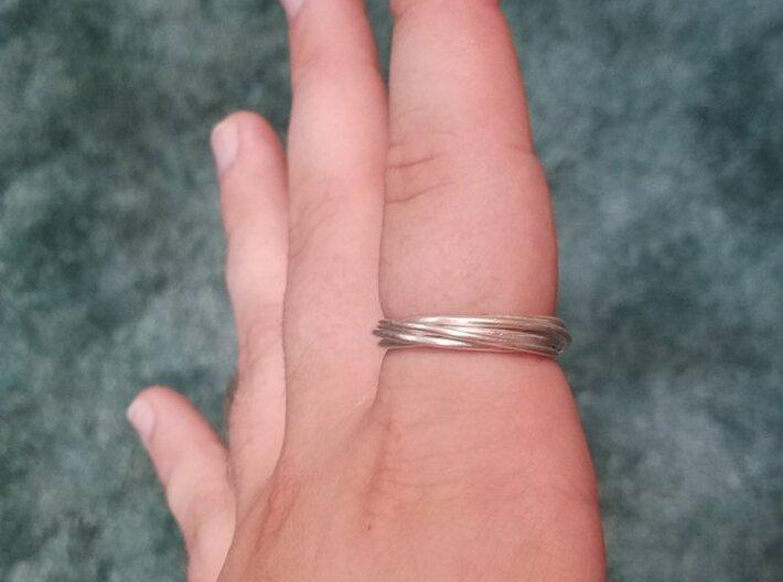 6-Ring Roller Ring 3d printed