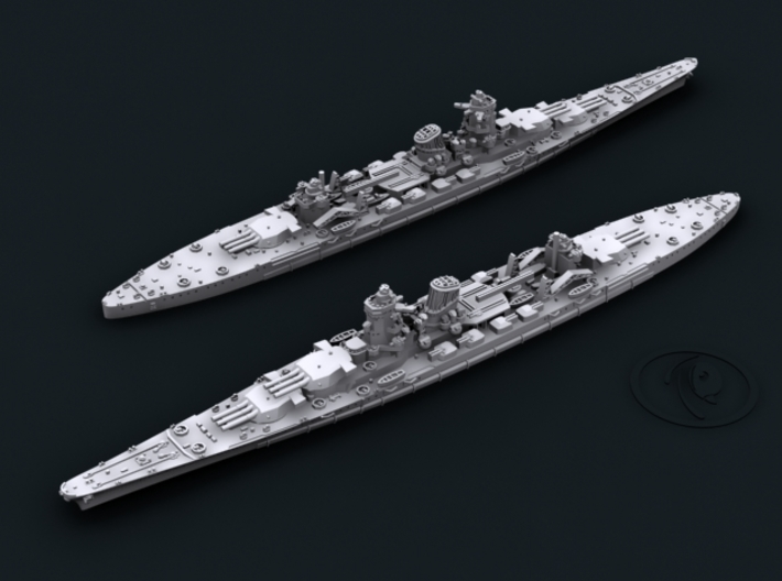 1/4800 IJN BC B65 Project [1942] (x2) 3d printed Computer software render