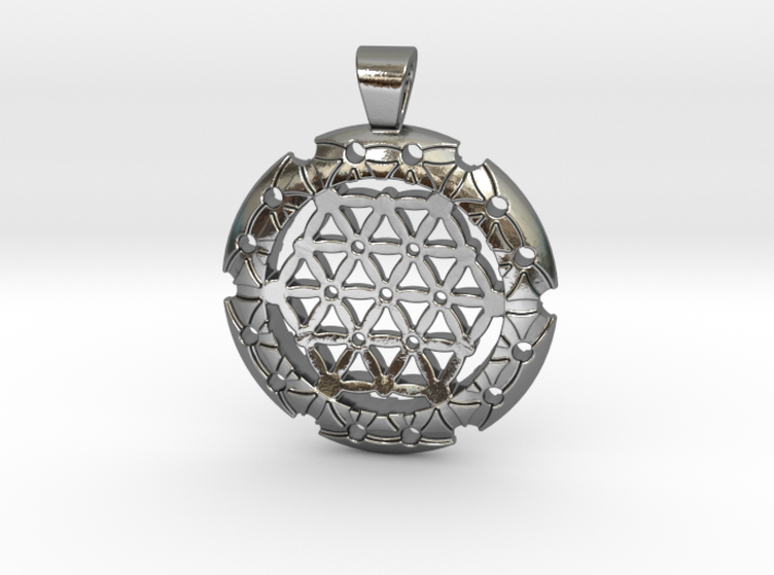 XL Flower Of Life-Fleur de vie 3d printed