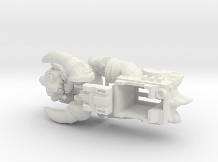 Slog Faceplate & Shell Kit (Titans Return) 3d printed