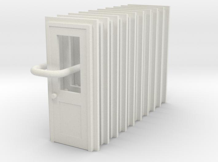Door Type 3 X 10 Scale HO 3d printed