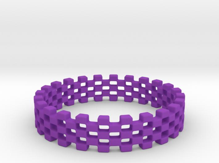 Continum Ring (US Size-6) 3d printed