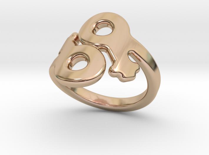 Saffo Ring 32 – Italian Size 32 3d printed