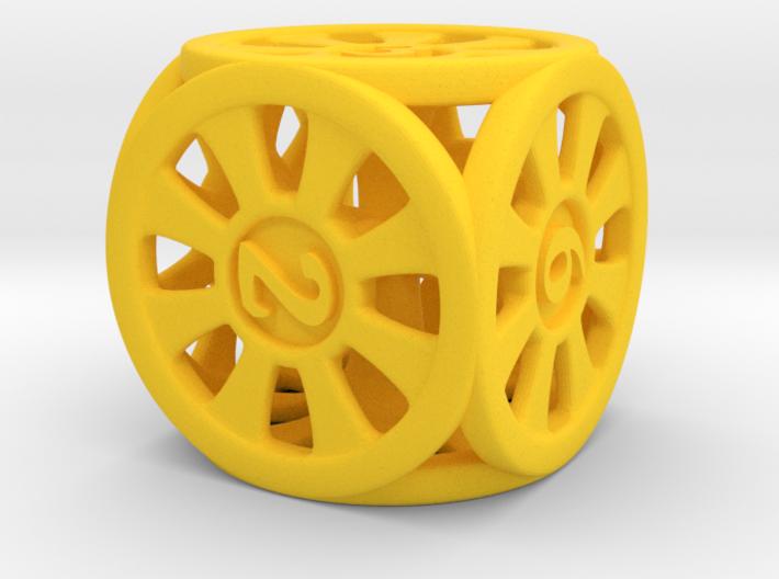 D6 dice rings 3d printed