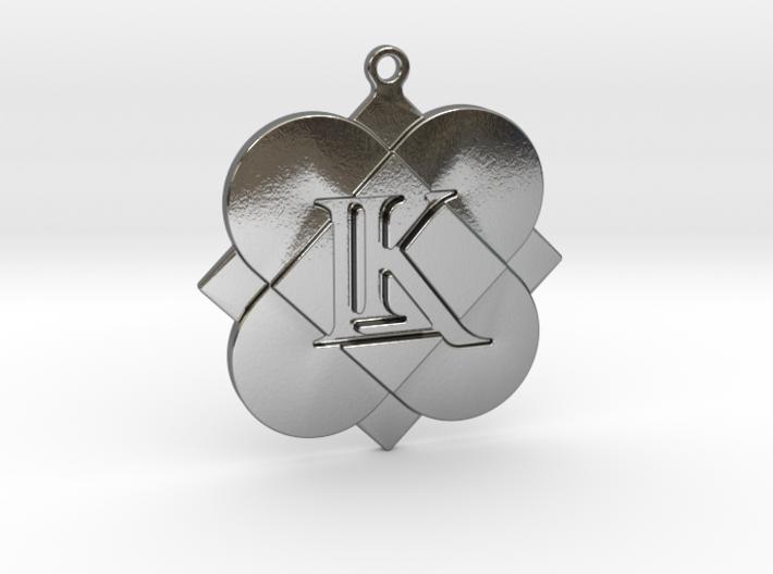 Custom Logo Keychain Pendant 3d printed