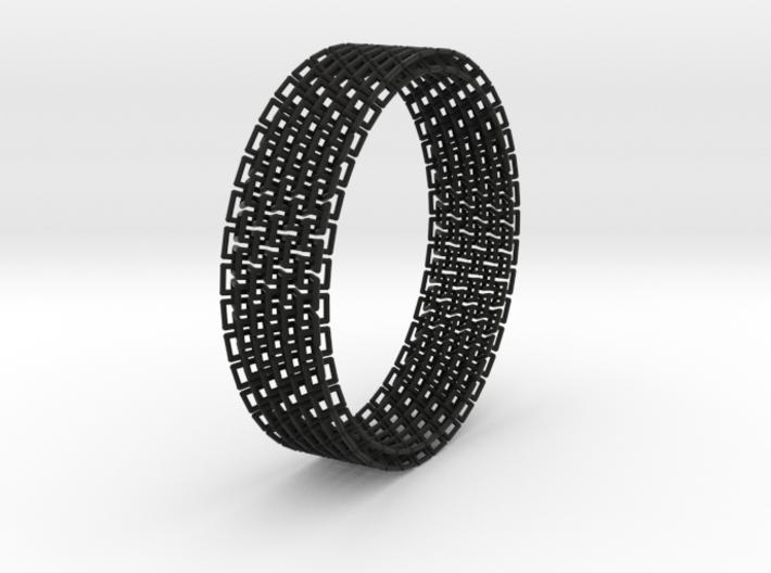 Wiggle Bracelet 3d printed