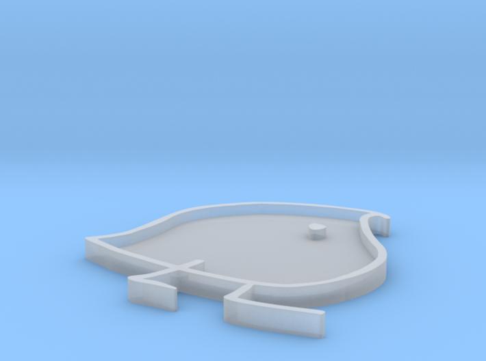 Wug Pin mold 3d printed