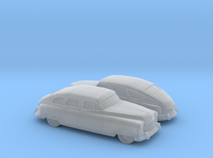 1/160 2X 1949-50 Nash Ambassador Sedan 3d printed