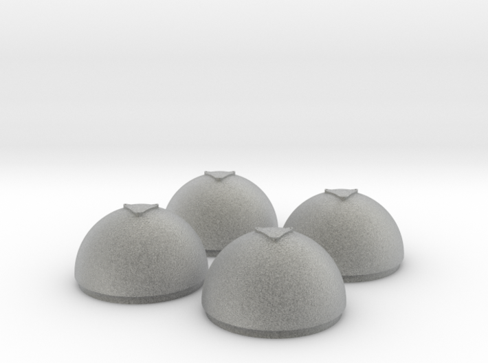 1/24 Torpedo Tube Warhead Inserts (4) 3d printed
