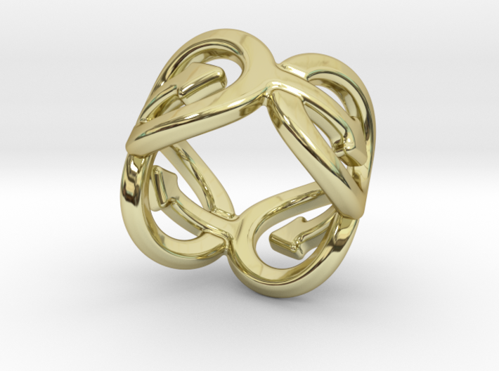 Coming Out Ring 30 – Italian Size 30 3d printed