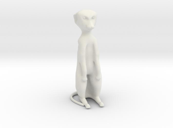 Meerkat Desktoy 3d printed