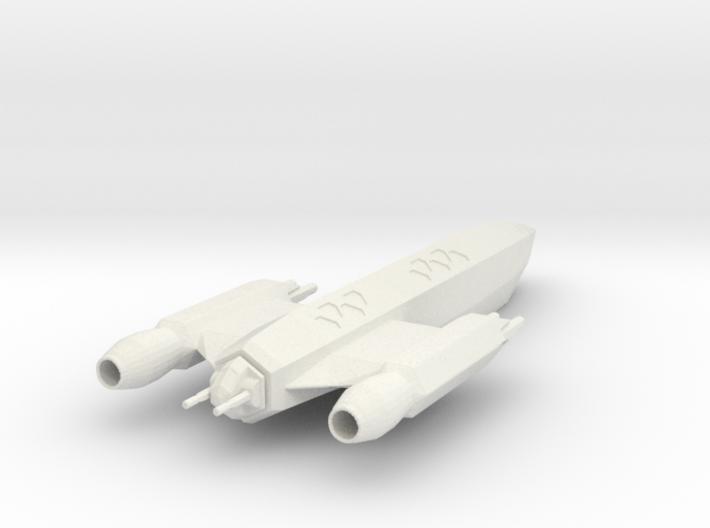 Bellicose-Class Frigate 3d printed