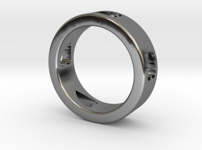 LOVE RING Size-13 3d printed