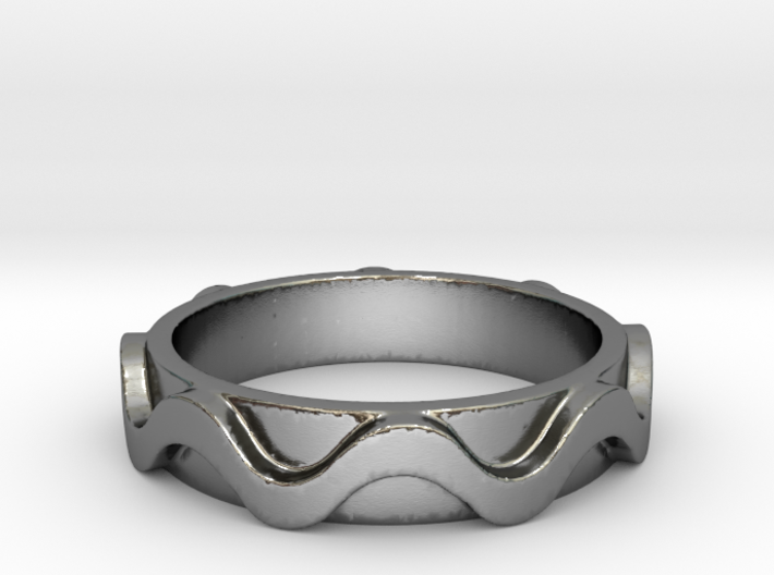 Copa band Ring Size 6 3d printed