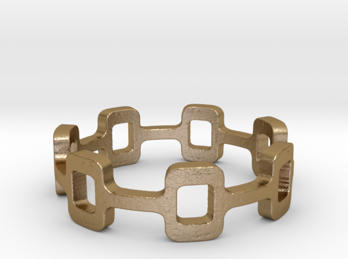 Ipa stack Ring Size 9 3d printed