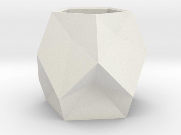 5 Faceted Pot 1(origin) 3d printed