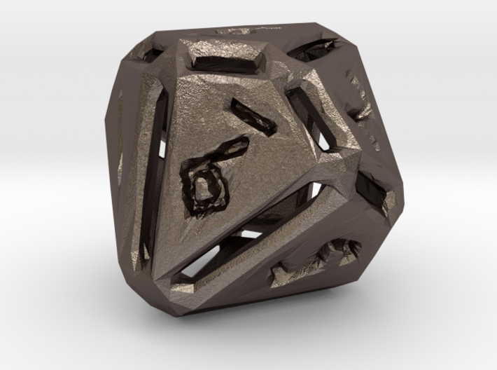 Rough Poly D10 3d printed