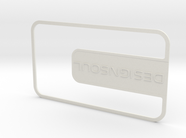 Customizable Businesscard 3d printed