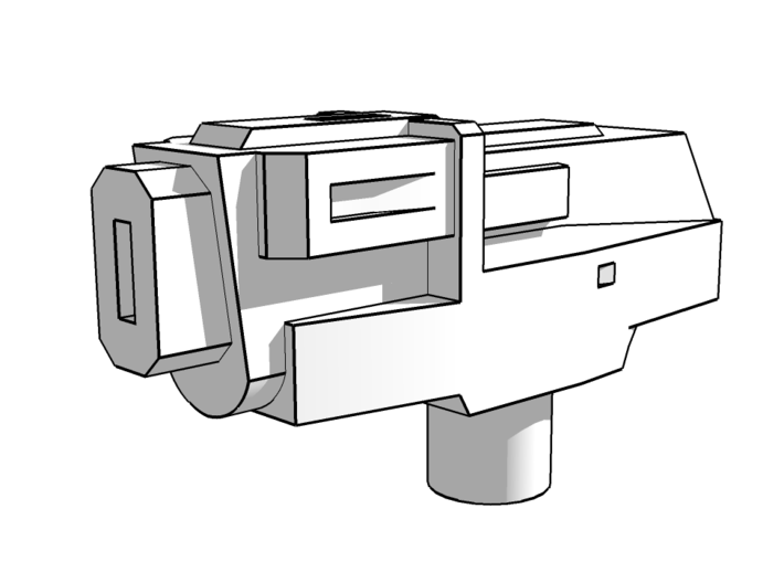 """""""PINPOINT"""" Transformers Vehicle Accessory 5mm post 3d printed"""