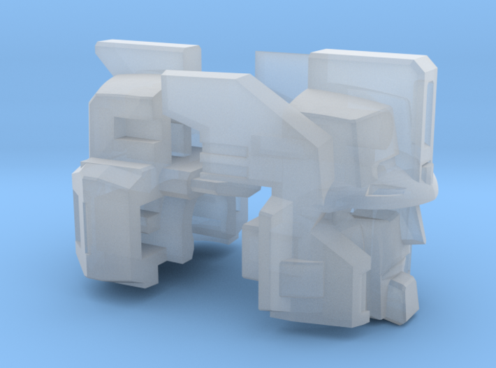 Cannon Master Leader Head Voyager 3d printed