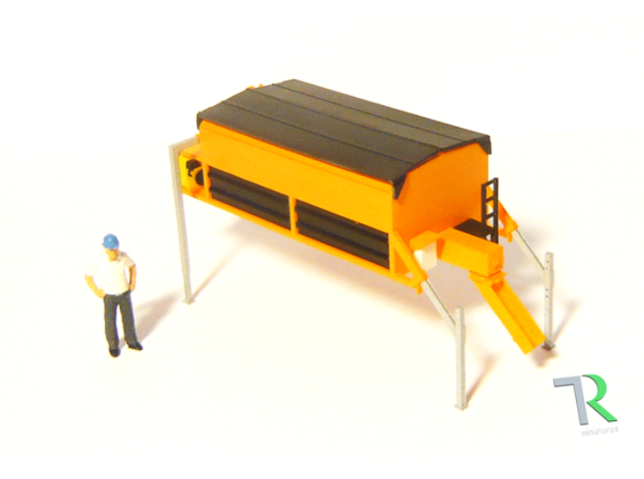 H0 1:87 Asphalt-Thermo-Container 3d printed