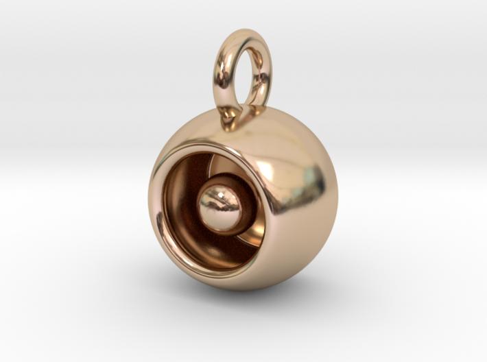 Levitation Sphere Pendant 3d printed