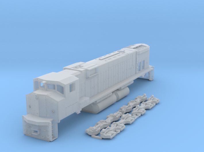 M630w N Scale 3d printed